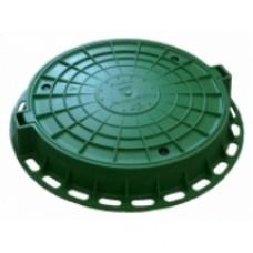 Люк пластиковый легкий малый зеленый AQUASTOK