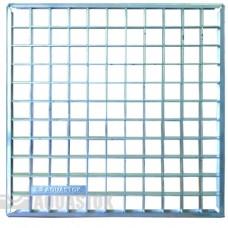 Решетка сварная оцинкованная для дождеприемника 300х300 AQUASTOK