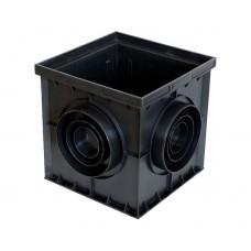 Дождеприемник пластиковый (пустой) 300х300 AQUASTOK