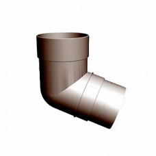 Колено трубы 72 град (шоколад, гранат) Docke PREMIUM